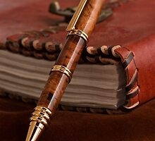 Journal with Pen by Jay Gross
