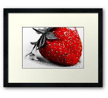 Strawberry SC Framed Print