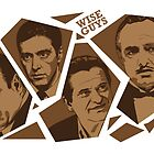 Wise Guys by ellocoart