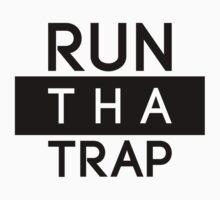 Run Tha Trap Shirt | Fresh Thread Shop [Blk] by FreshThreadShop