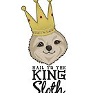 King Sloth White by JacksonSam