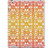 Floral abstract background iPad Case/Skin