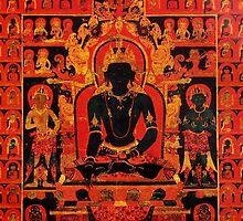 Akshobhya Buddha by Stephen Auyeung