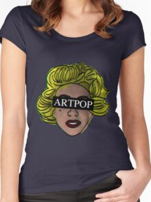 My ARTPOP could mean anything Women's Fitted Scoop T-Shirt