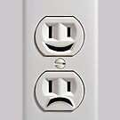 Emotional Electricity Plug Outlet iphone 5, iphone 4 4s, iPhone 3Gs, iPod Touch 4g case by pointsalestore Corps