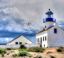 Point Loma Lighthouse - San Diego - Cabrillo National Park by PhotoArtByLiane