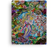 Lady of Whimsy and Wonder Canvas Print