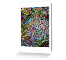 Lady of Whimsy and Wonder Greeting Card