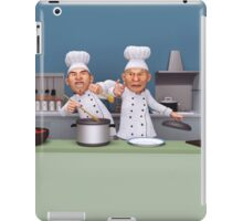 Too Many Cooks iPad Case/Skin