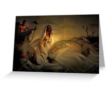 Allegory Fantasy Art Greeting Card