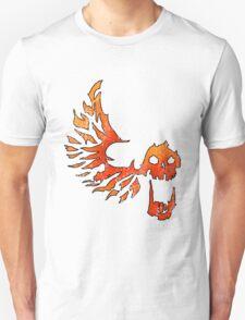 Bandit Flame Wing Skull Unisex T-Shirt