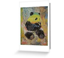 Rasta Panda Greeting Card