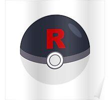 Team Rocket Ball Poster