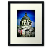 Architecture in San Francisco Framed Print