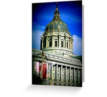 Architecture in San Francisco Greeting Card
