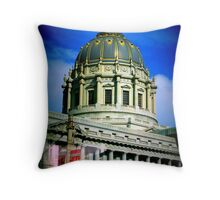 Architecture in San Francisco Throw Pillow