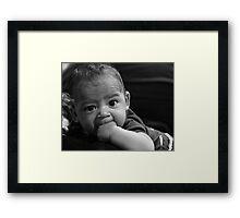 Got Fist? Framed Print