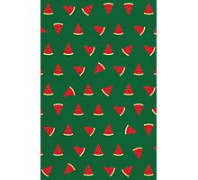 Sweet Watermelon Pictures Pattern Photographic Print