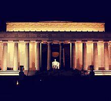 Lincoln Memorial Night by Fredy Soberanis