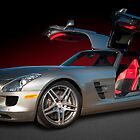 Benz SLS by Kurt Golgart