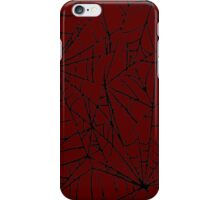 Crimson Web iPhone Case/Skin