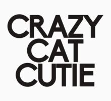 Crazy Cat Cutie - Black by hunnydoll