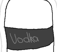 Vodka is Love Sticker