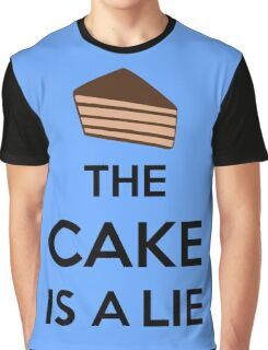 The Cake Is A Lie Graphic T-Shirt