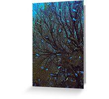 THE DAMSEL FAIRY TREE Greeting Card