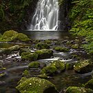 Glenoe Waterfall by dazb75