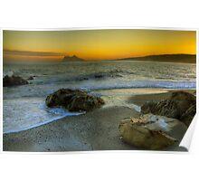 Gibraltar Sunset Poster