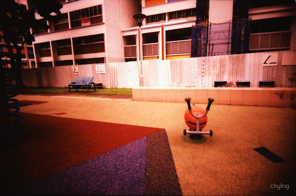 Abandoned Playground - Lomo by chylng