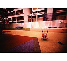 Abandoned Playground - Lomo Photographic Print