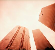 Towers Stretching Into The Skies - Lomo by chylng