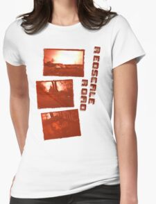 Redscale Road Womens Fitted T-Shirt