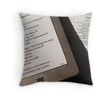 Paper or Plastic Throw Pillow