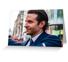 Bradley Cooper Greeting Card