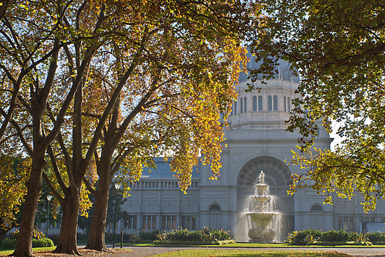 Royal Exhibition Building Carlton Gardens Melbourne Vic by PhotoJoJo