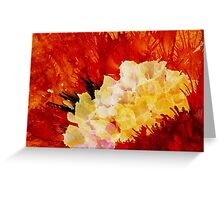 Solo Yellow Greeting Card