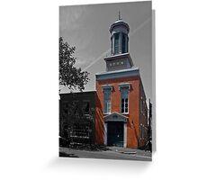 Friendship Firehouse - Alexandria, VA Greeting Card