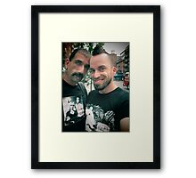 Crazy boys Framed Print