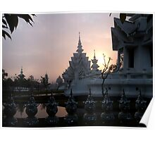 Sunrise, White Temple, Chiang Rai Poster