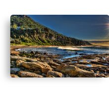 Coalcliff Beach Canvas Print