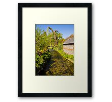St Mary Bourne Framed Print