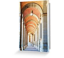 The Royal Palace, Spain  Greeting Card