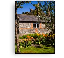 St Mary Bourne England Canvas Print