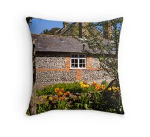 St Mary Bourne England Throw Pillow