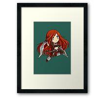 Chibi Katarina Framed Print