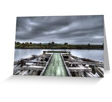 Old Wooden Dock [Colour] Greeting Card