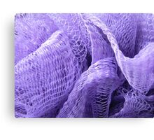 in the color lavender Canvas Print